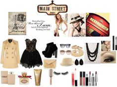 """Main Street Paris"" by rockstargirl7797 on Polyvore"