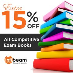 Extra 15% OFF on all Competitive Exam Books at Infibeam. Click on http://www.grabon.in/coupon-codes/?cid=3441 to use this coupon code.  #Coupons #ExamBooks #OnlineShopping #Infibeam