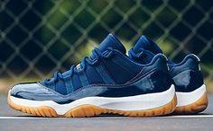 finest selection 6ec33 2401f Nike Air Jordan Retro 11 Low Navy Gum 528895-405 Nike Air Jordan 11