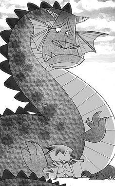".Looks like ""Pete's Dragon"""