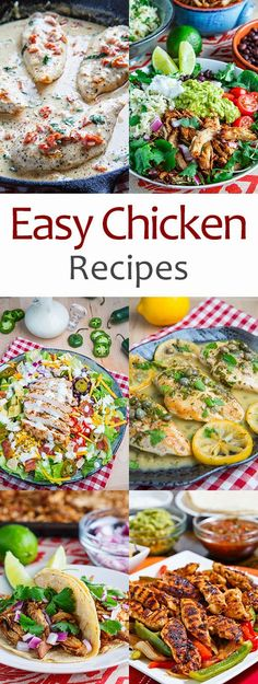 Easy Chicken Recipes