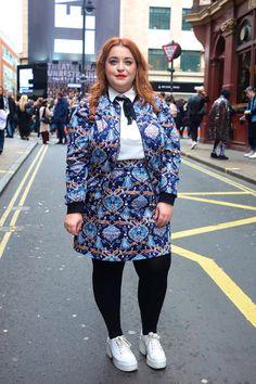 Danielle Vanier London Fashion Week My Outfit Roundup London Fashion Crying Plus