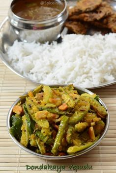 I have always had a liking for Andhra style food ever since I landed here in USA, most of my friends from here are telugu, may be that influenced me a ...