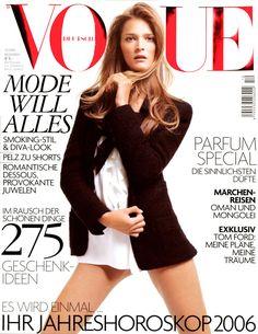 Carmen Kass Vogue Deutsch December 2005