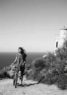 Ocean View + Bicycle= Perfect