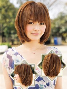 Surprising Layered Bob With Bangs Hair Styles Cuts Colors Pinterest Hairstyles For Men Maxibearus