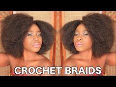 ❤❤New Crochet Braids❤❤ Ghana Fashion, African Fashion, Afro Hair Tutorial, River Island Fashion, Wig Making, Kinky Hair, Hair Tutorials, Crochet Braids, African Beauty