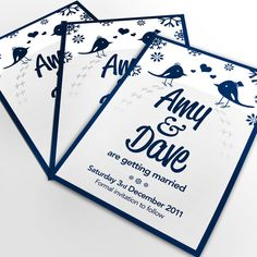 Save the Date cards by @davewi11