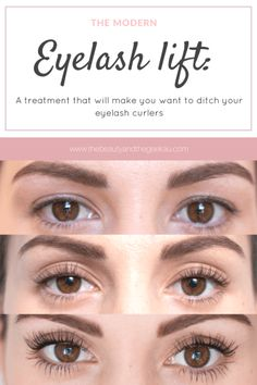 The eyelash lift: A treatment that will make you want to ditch your lash curlers