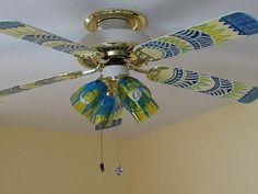 ceiling fan by cattfrancisco, via Flickr