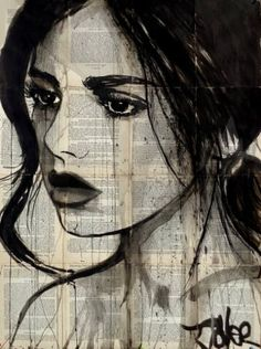 "Saatchi Art Artist LOUI JOVER; Drawing, ""silk"" #art"