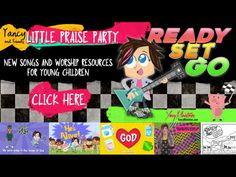 Ready Set Go | Yancy | Song Tracks | WorshipHouse Kids Childrens Bible Songs, Bible Songs For Kids, Kids Worship Songs, Big Songs, Worship Leader, Easter 2021, Friends Set, Song List