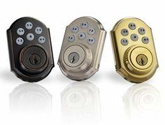 Keyless Deadbolt Lock With Remote Keyless Front Door