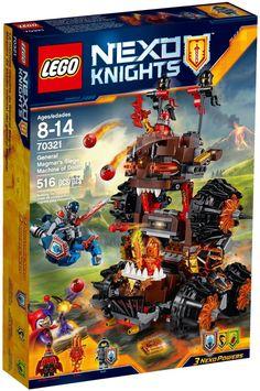LEGO 70321 Nexo Knights General Magmar Siege Machine of Doom Construction Set…http://amzn.to/2cJ1uvB