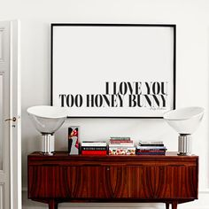 I Love You Too Honey Bunny Art Print. Shop framed and unframed art prints and posters on Fy ✓ Free, fast shipping ✓ 100 day returns ✓ Museum quality paper & printing ✓ Professionally framed I Love You Honey, My Love, Romantic Notes, Love Connection, Honey Bunny, Bunny Art, Tiny Spaces, State Art, Wooden Frames