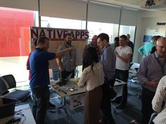 Our Native Apps team loved showing their colleagues what they're working on at our recent science fair!