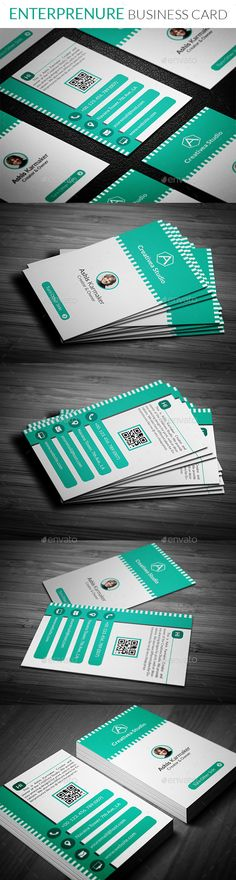 Enterprenure Business Card Template #design #print Download: http://graphicriver.net/item/enterprenure-business-card/11993712?ref=ksioks