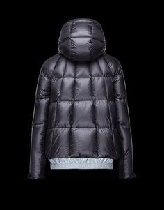 Moncler Black Topaze Water Resistant Hooded Jacket Women's Coat Size 4 (S) 40% off retail
