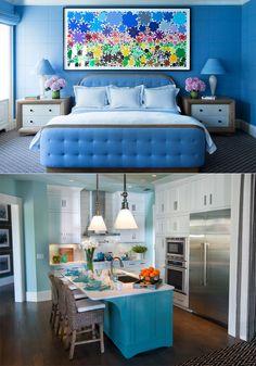 home decor blue color @TheRoyaleIndia
