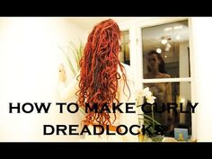 How to make curly dreadlocks - Dreadstuff