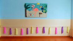 Summer decoration bulletin board