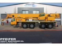 Used telescopic crane available at Pfeifer Heavy Machinery. Item Number PHM-Id 06605, Model SA4100, Year of construction 2011, Kilometers 6072, Hours carrier 619 Hours superstructure 2093, Loading (lifting) capacity (kg) 100000, Boom length maximum (m) 49, Fuel Diesel.