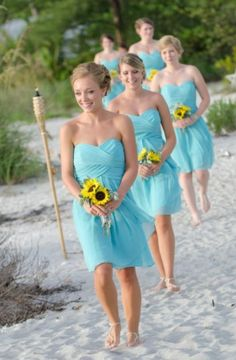 Dream braid maids dresses
