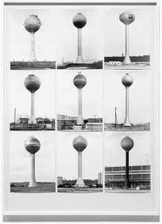 Bernd and Hilla Becher. Water Towers