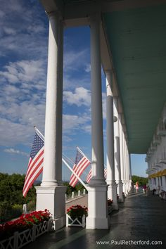 Grand Hotel Front Porch photo by Paul Retherford Photography. #Americassummerplace