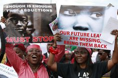 #BringBackOurGirls: powerful photos from Nigeria kidnapping protests