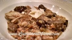 This is my family's FAVORITE crockpot meal! So easy and absolutely delicious! Ingredients 2 1/4 cups low-sodium chicken broth (1 can and a little water) 1 cup whole farro 1 pound baby bellas or button mushrooms, halved 2 leeks, white and light green parts only, halved and sliced 1/3 cup grated Parmesan, plus more grated …