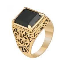 Resultado de imagen para anillos de oro para hombre