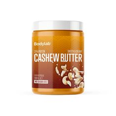 Bodylab Cashew Butter kg) Cashew Butter, Candle Jars, Smoothie, Almond, Protein, Gluten, Smoothies, Shake, Candle Mason Jars
