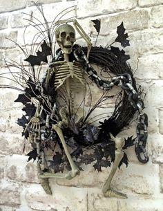 https://www.etsy.com/listing/199749148/spooky-skeleton-wreath-halloween-wreath