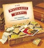 The Matchbox Diary by Paul Fleischman, illustrated by Bagram Ibatoulline. To reserve it: http://search.westervillelibrary.org/iii/encore/record/C__Rb1566530__Smatchbox%20diary__Orightresult__U__X7?lang=eng&suite=gold