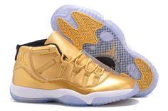 http://www.jordan2u.com/usher-pe-jordan-11-gold-shoes-metallic-gold-black-for-sale.html USHER PE JORDAN 11 GOLD SHOES METALLIC GOLD BLACK FOR SALE Only $88.00 , Free Shipping!