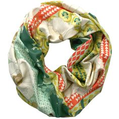 Olive Forest Green Infinity Scarf from Necklush