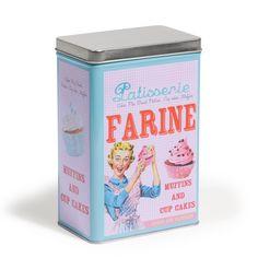 Boîte à farine Pâtisserie (Maisons du Monde)