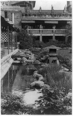 Imperial Hotel, Tokyo, Japan. 1923. Frank Lloyd Wright