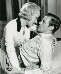 Carole Lombard & Gary Cooper (these two together were too hot for words!).