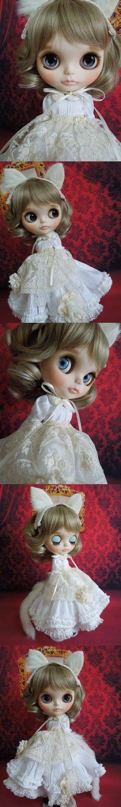 Aguri * Custom Blythe * white cat Princess Admin - Auction - Rinkya! Japan Auction & Shopping