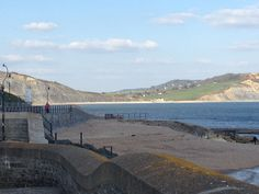 The Jurassic Coast in Lyme Regis, Dorset