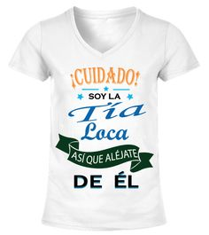 Soy La Tía Loca De Él!  #birthday #october #shirt #gift #ideas #photo #image #gift #costume #crazy #nephew #niece