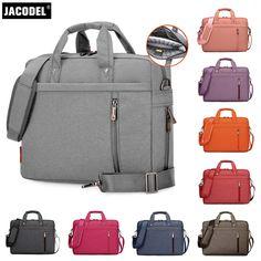 Jacodel Business Laptop Handbags Bag Woman Laptop Briefcase Bag for Laptop 17 inch Cover Funda Portatil Macbook Pro Retina case