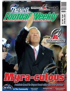 Myra...culous!!!   Patriots Football Weekly December 25, 2012