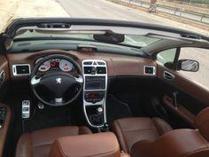 Peugeot 307cc Interior