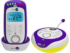 BT 350 Lightshow Baby Monitor.