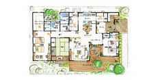 House Plans, Floor Plans, Flooring, How To Plan, Home, Home Plans, Ad Home, Hardwood Floor, Homes