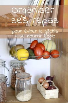 Organiser ses repas fais le plein d astuces pour que ce soit plus simple ! Batch Cooking, Cooking Recipes, Healthy Recipes, Waste Zero, Healthy Life, Healthy Eating, Green Life, Winter Food, Better Life