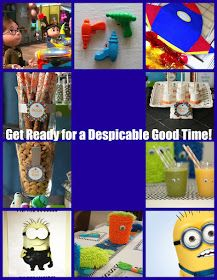 Fabulously Smitten: Despicable Me Party